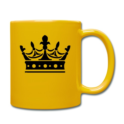 Krone Symbol König Kaiser Königin Mittelalter - Tasse einfarbig