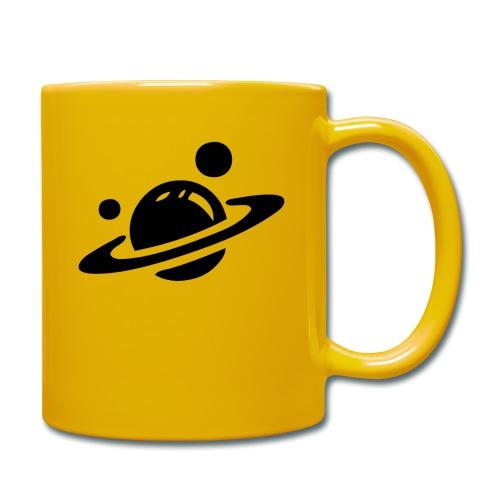 Weltall Symbol Planet Saturn Planeten Universum - Tasse einfarbig