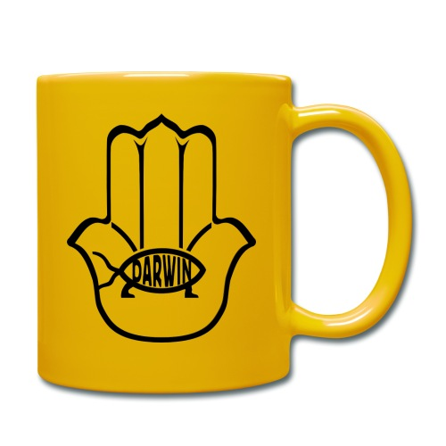 הלוגו של הערס הסקפטי - Full Colour Mug