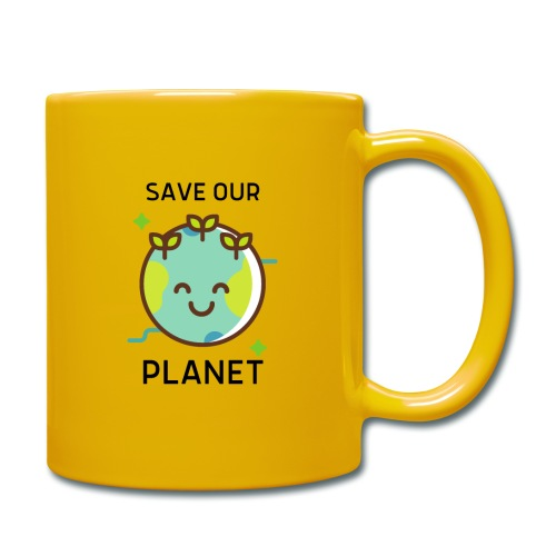 Save our planet LIGHT - Full Colour Mug