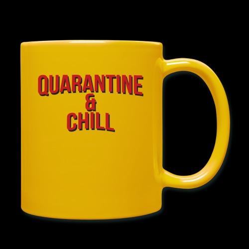 Quarantine & Chill Corona Virus COVID-19 - Tasse einfarbig