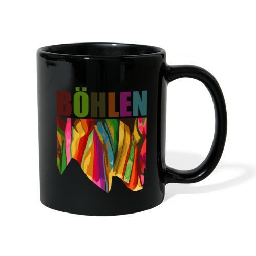 Böhlen bunt - Tasse einfarbig