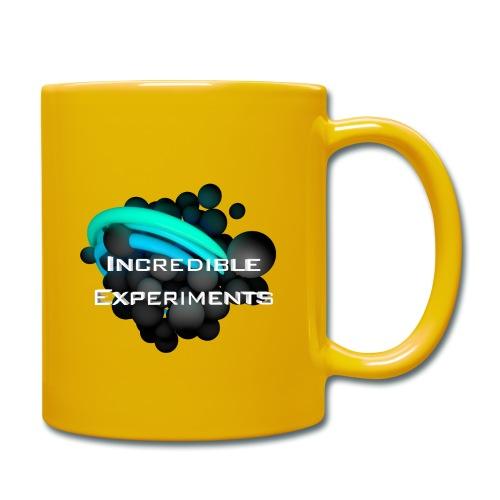 Incredible Experiments Logo - Tasse einfarbig