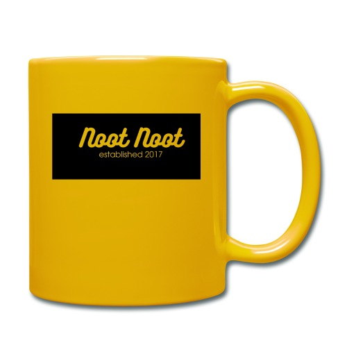 Noot Noot established 2017 - Full Colour Mug