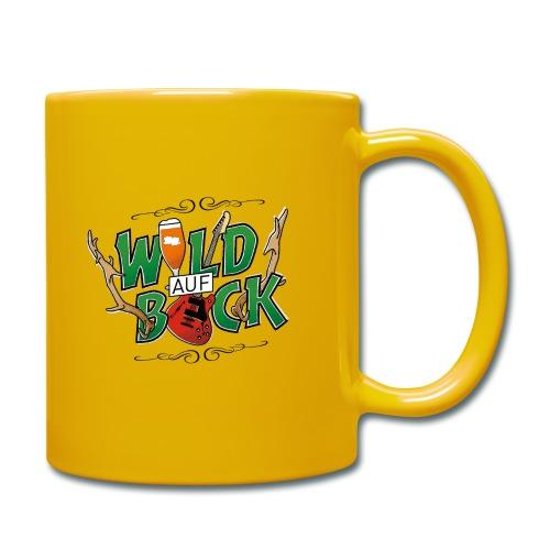 Wild auf Bock - Tasse einfarbig