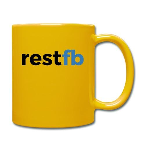 RestFB logo black - Full Colour Mug
