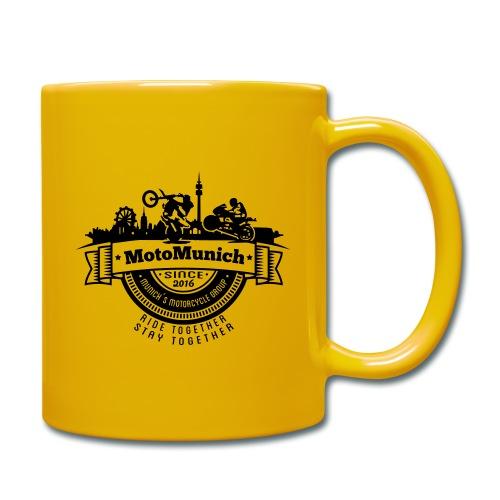 MotoMunich Logo - Tasse einfarbig