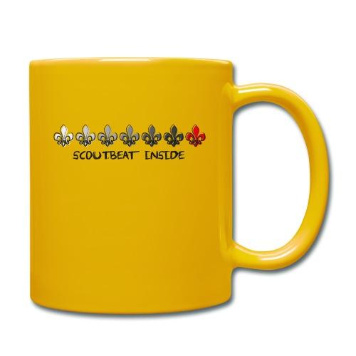 Loading Hearts - Pfadfinder Lilien - Tasse einfarbig