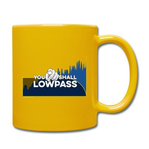 You shall Low Pass (Blue) - Mug uni