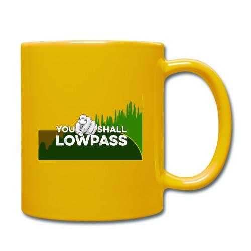 You shall Low Pass (Green) - Mug uni