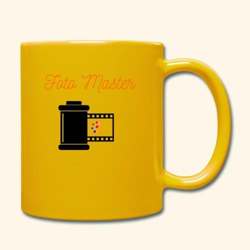 Foto Master 2nd - Ensfarvet krus
