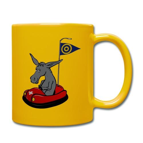 Autoscooter Esel - Tasse einfarbig