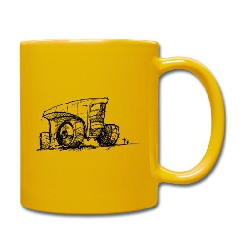 Futuristic design tractor - Full Colour Mug