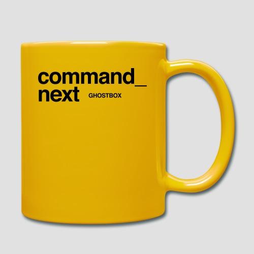 Command next - Tasse einfarbig