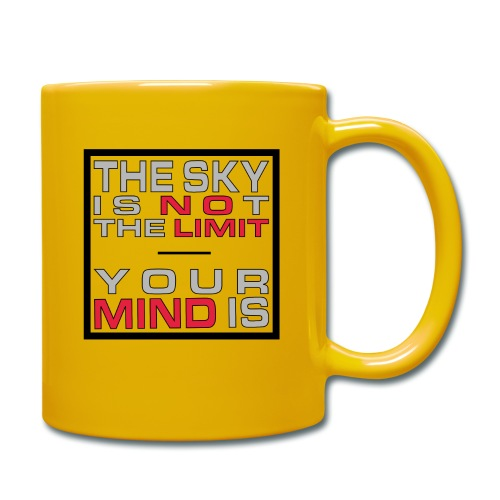 No Limit Mind - Tasse einfarbig