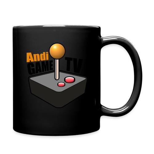Andi GAME TV (Black) - Tasse einfarbig
