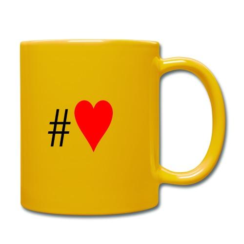 Hashtag Heart - Full Colour Mug