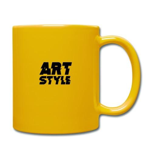art style 3 - Kubek jednokolorowy