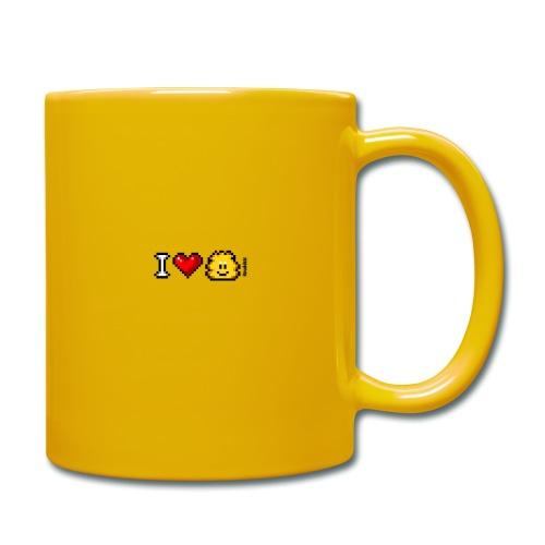 I Love Knuddels - Tasse einfarbig