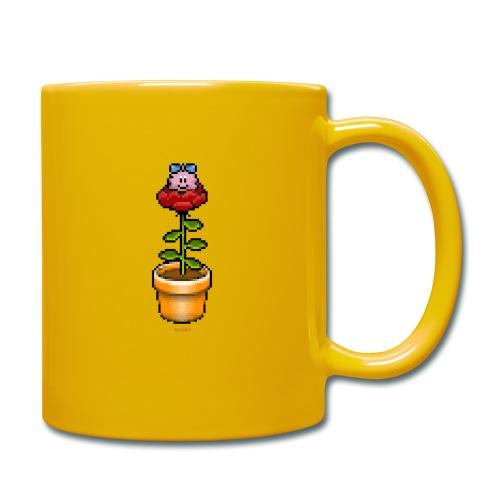 Rosentopf - Tasse einfarbig