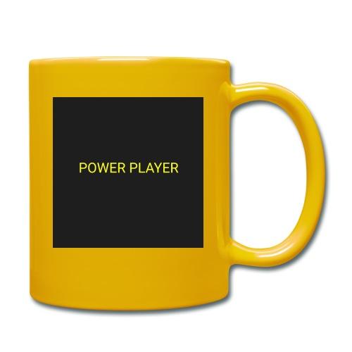 Power player - Tazza monocolore