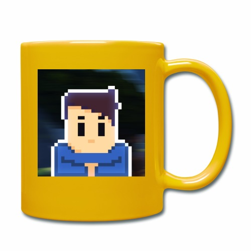 JoeWobbler Avatar with Background - Full Colour Mug