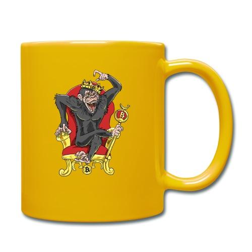Bitcoin Monkey King - Beta Edition - Tasse einfarbig