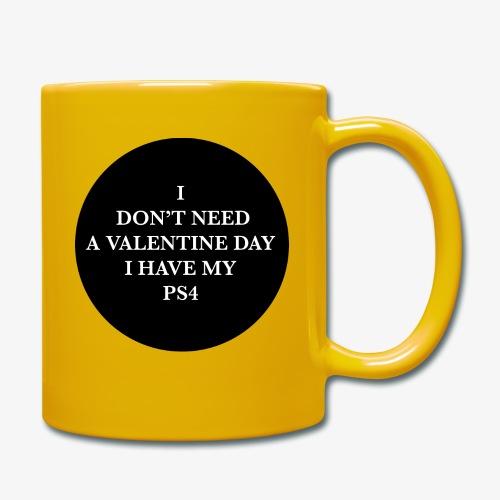 Valentine Day - Love videogame - Tazza monocolore