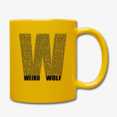 The Big W (Black) - Full Colour Mug
