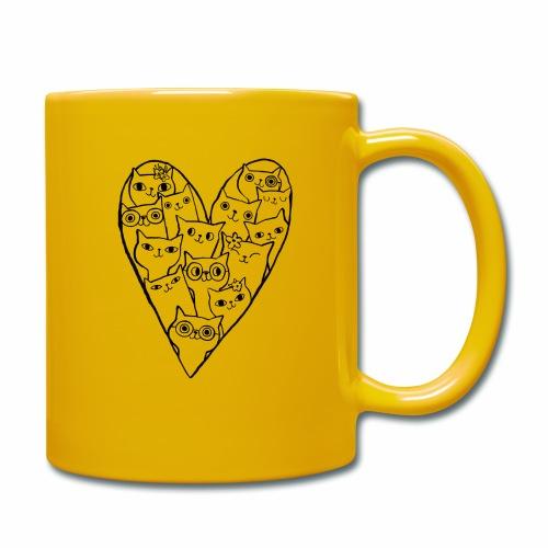 I Love Cats - Full Colour Mug