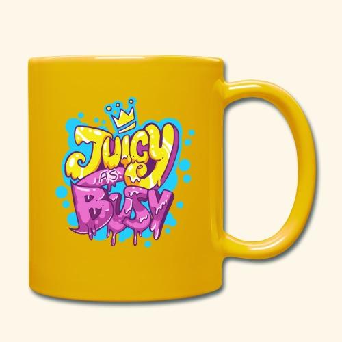 Juicy as Busy - Taza de un color