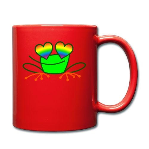 Pride Frog in Love - Full Colour Mug