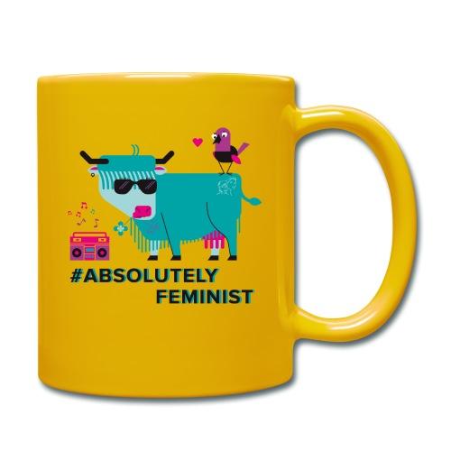 Absolutely Feminist (div) - Tasse einfarbig