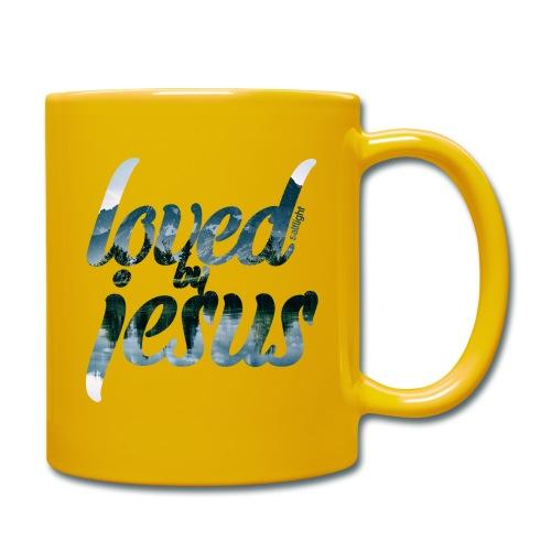 LOVED BY JESUS - Full Colour Mug