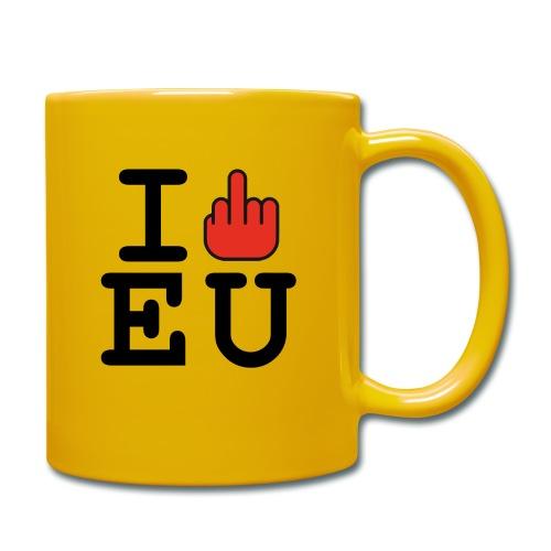 i fck EU European Union Brexit - Full Colour Mug