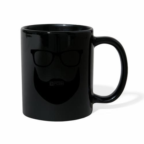 Plum Bart Schwarz - Tasse einfarbig