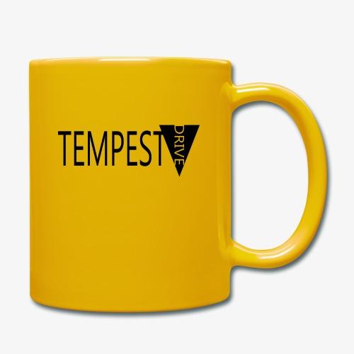 Tempest Drive: Full Logo - Ensfarvet krus