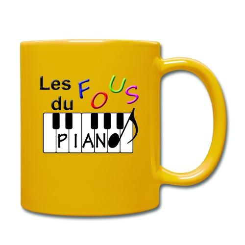Logo Fous du piano 3 - Mug uni