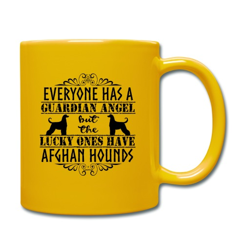 Afghan Hound Angels - Full Colour Mug
