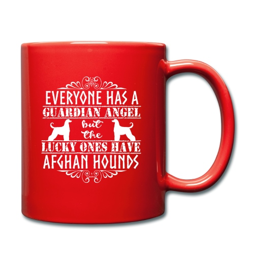 Afghan Hound Angels 2 - Full Colour Mug