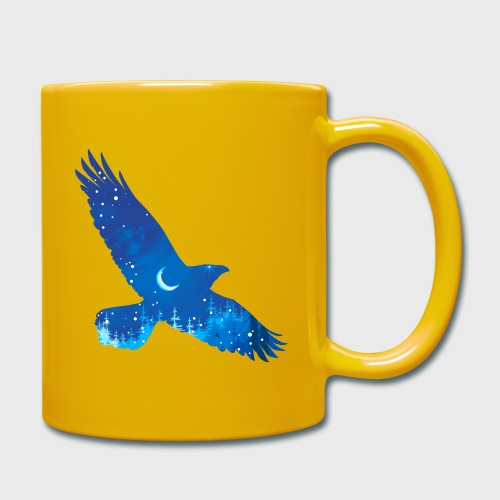 Oiseau Bleu d'hiver - Mug uni