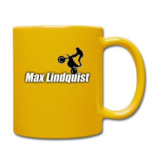 Max Lindquist - Enfärgad mugg