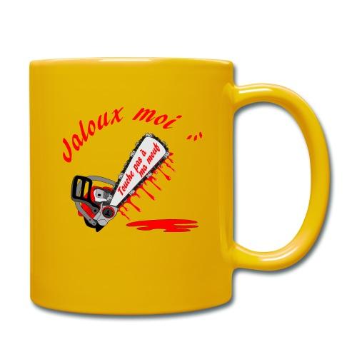 t shirt jaloux moi amour possessif humour - Mug uni