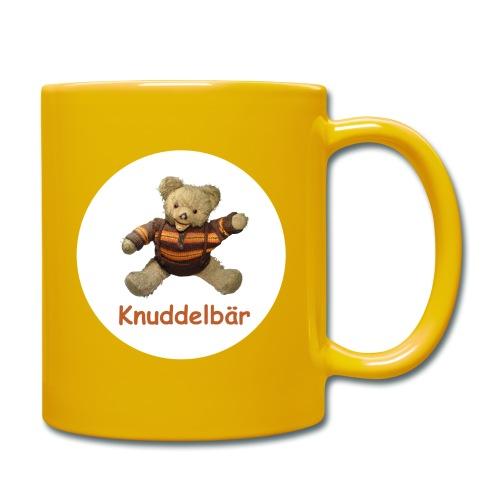 Teddybär Knuddelbär Schmusebär Teddy orange braun - Tasse einfarbig