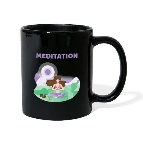 Yoga Meditation - Tazza monocolore