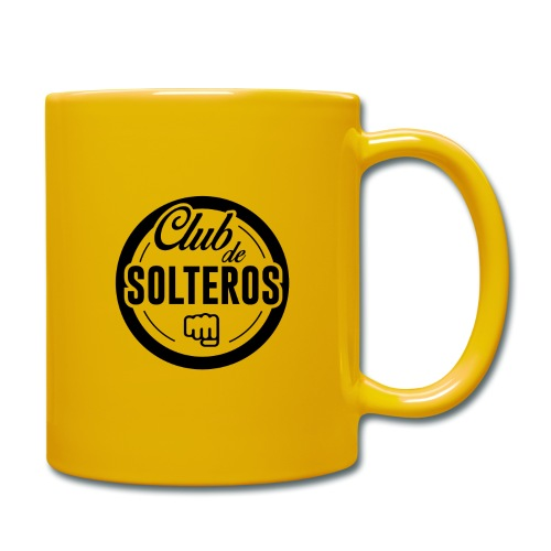Club de Solteros (logo negro) - Taza de un color
