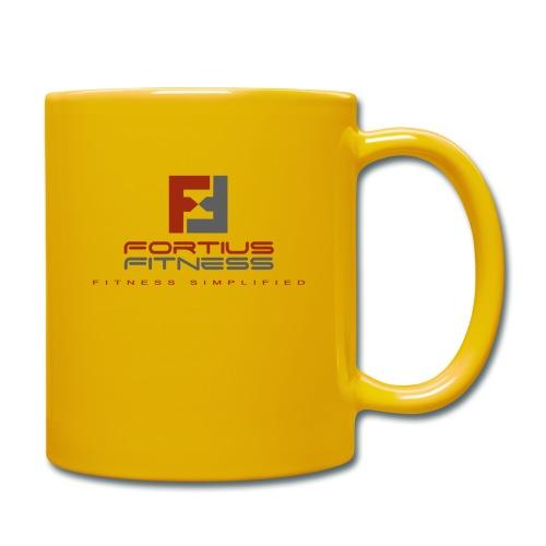 Fortius Fitness - Ensfarvet krus