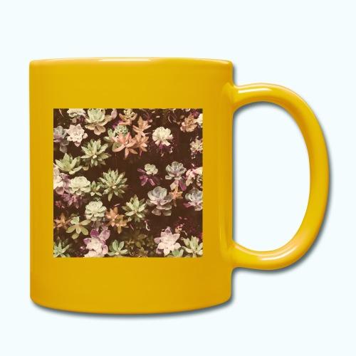Botanical Garden Watercolor Beige - Full Colour Mug