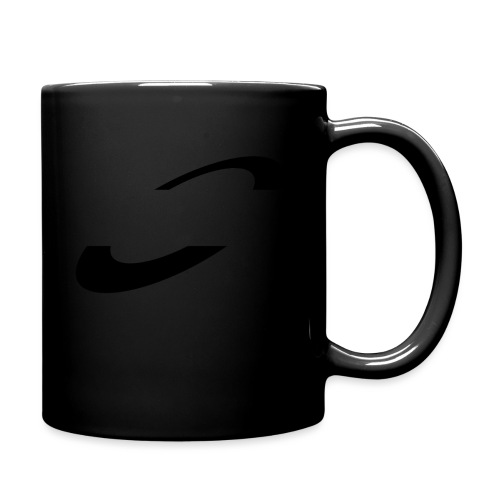 Planet Cycling Icon Black - Full Colour Mug