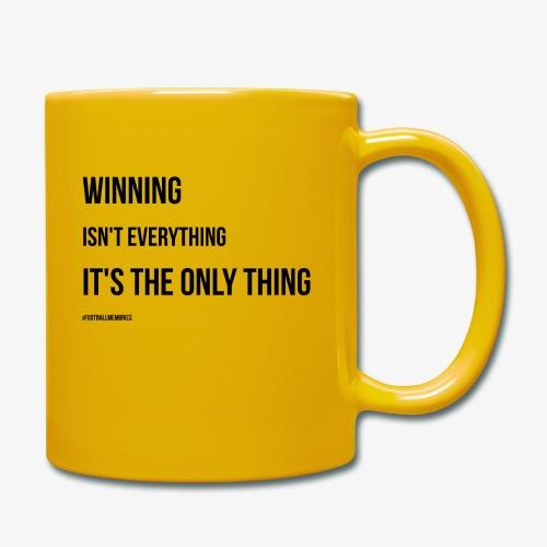Football Victory Quotation - Full Colour Mug